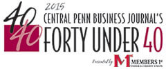 2015 Central Penn Business Journal's 40 Under 40