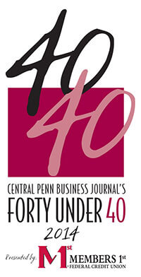 2014 Central Penn Business Journal's 40 Under 40