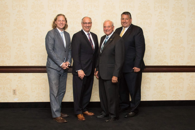 Image: members of YCEA