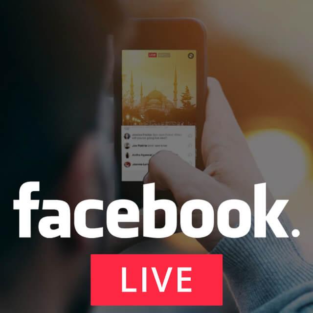 Image: facebook live logo