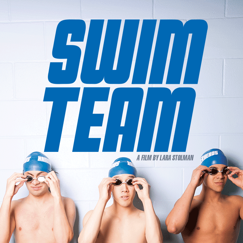 Image: swim team poster