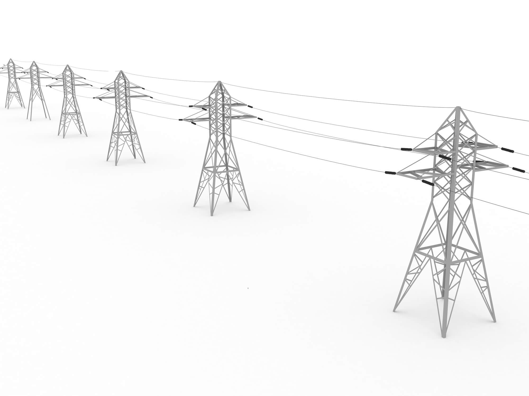 Image: Electricity Transmission Lines