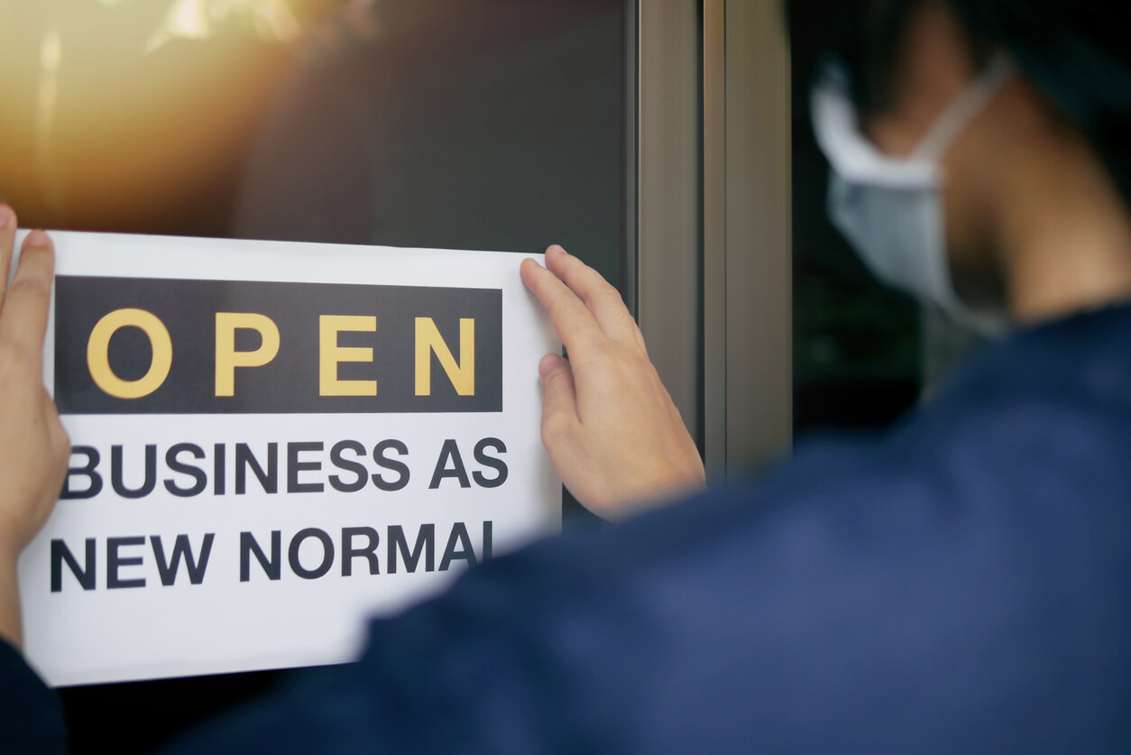 Image: reopening a business after a pandemic