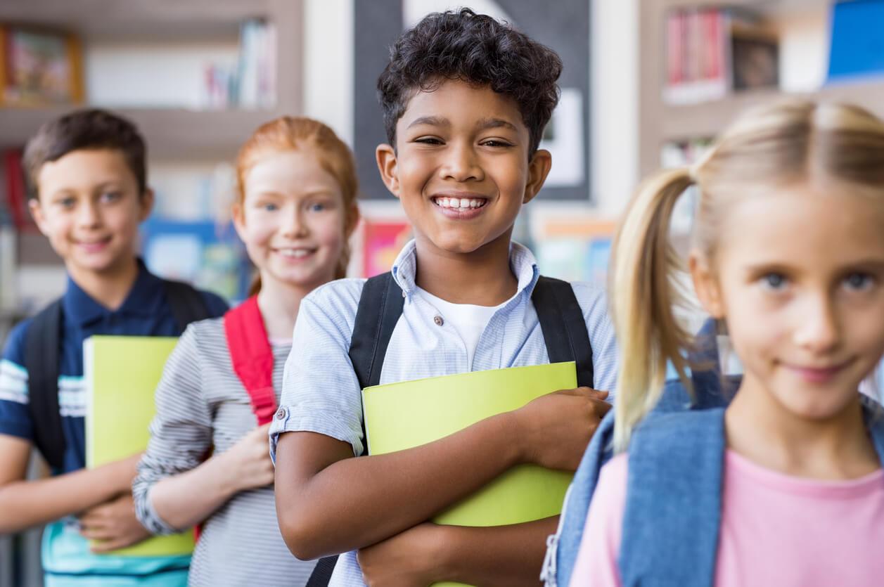 Image: School Age Students